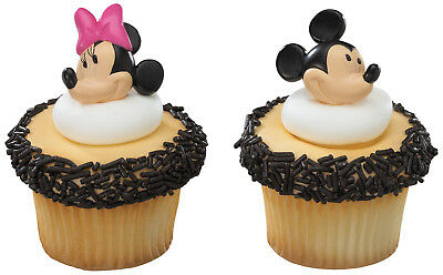 MICKEY MINNIE MOUSE molded Cake Cupcake Rings/ Favors