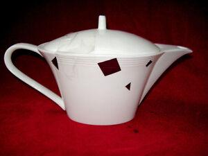 SASAKI-CONFETTI-PLATINUM-COFFEE-POT-ART-DECO-STYLE-NEW