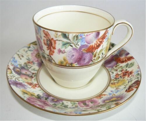ROYAL DOULTON THE SHREWSBURY DEMITASSE DEMI CUP & SAUCER