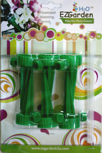 18pcs-of-EZ-Garden-H2O-Auto-Irriagtion-Watering-Water-Spikes-For-Plants