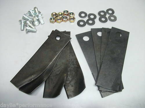 """Quality replacement blades & bolts for 21"""" HONDA mowers"""