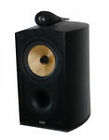 B&W Nautilus 805 Diamonds Bookshelf Speakers - Black