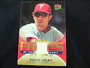 CHASE-UTLEY-GAME-USED-MEMORABILIA-CARD-2007-ULTRA
