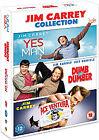 Jim Carrey Triple - Yes Man / Dumb and Dumber / Ace Ventura (DVD, 2011, 3-Disc Set)