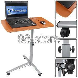 LAPTOP-COMPUTER-NOTEBOOK-DESK-TABLE-STAND-CART-MOBILE-Slightly-Used