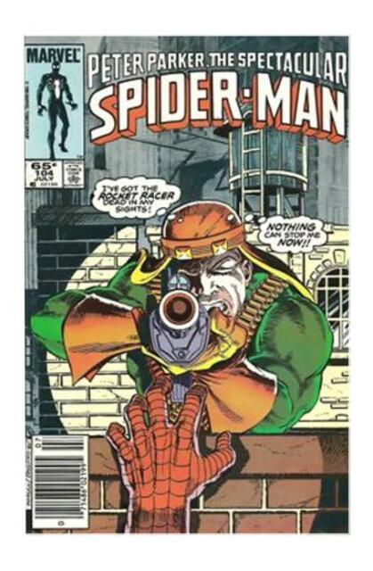 Spectacular Spiderman '85 104 VF S2