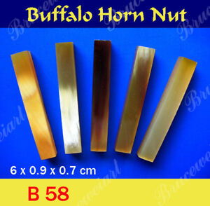 Free-Shipping-Buffalo-Horn-Nut-6-x-0-9-x-0-7-cm-5-pcs-GB58