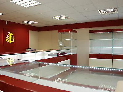 Jewellery Display Case, Cabinet Stand Box Led Light
