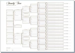 family generation chart
