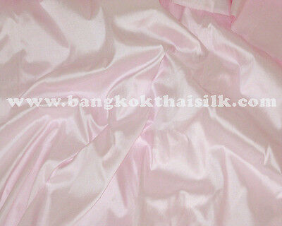 PALE PINK100% PURE SILK FABRIC BRIDESMAID WEDDING PROM DRAPE SCARF