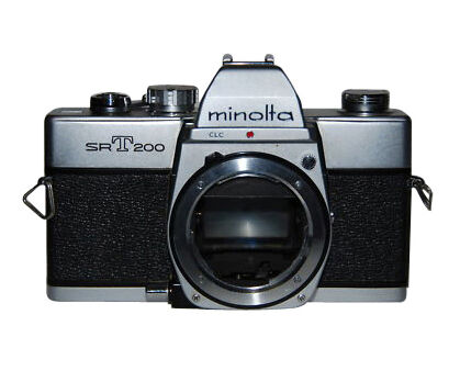 minolta srt 200 35mm slr film camera body only | ebay