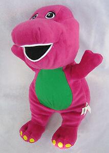 Barney-Dinosaur-Plush-Toy-Doll-New-9-034-FREE-SHIPPING