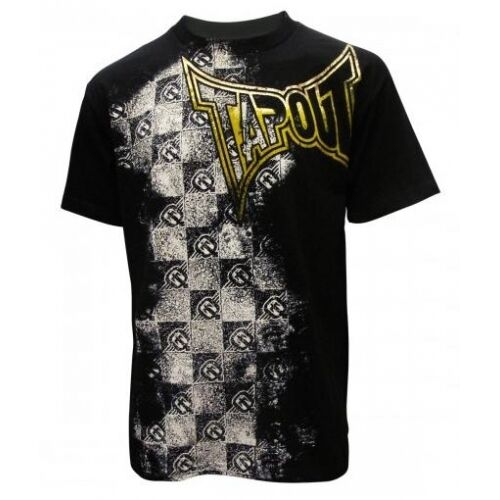 BNWT TAPOUT CHECKMATE FOILED MMA TEE UFC M L XL