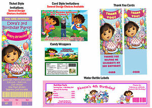 Dora-the-Explorer-Go-Diego-Go-Birthday-Party-Ticket-Invitations-Supplies-Favors