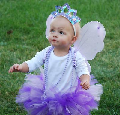 Purple Fairy Princess Pack! Tutu,Wings,Crown,Wand