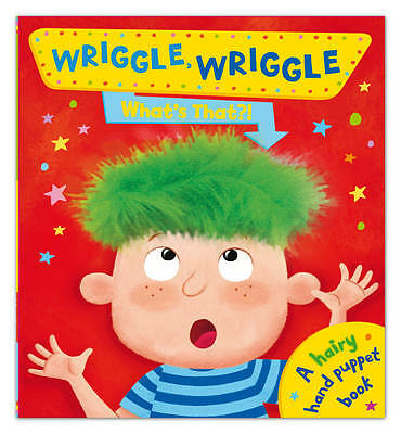 , Wriggle Wriggle What's That?, Hardcover, Excellent Book