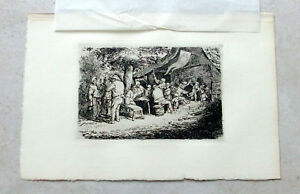 Adriaen-Ostade-etching-039-The-Fair-039-Gsell-collection1872
