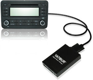 Digital-CD-changer-For-ISO-8-Pin-VW-Audi-Skoda-Seat