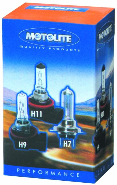 Brand New 10 PC 12V H7 55W Quality Halogen Clear Car Globes / Bulbs Bulk Pack