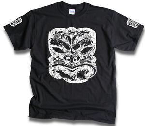 Mens-Womens-Maori-Tiki-Chest-Sleeves-Aotearoa-New-Zealand-T-Shirt-Sm-3XL