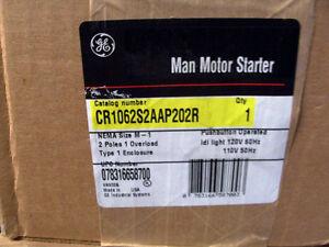 Ge general electric manual motor starter type 1 enclosure for Ge manual motor starter