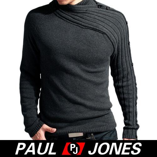 Winter  Men's Stylish Long Sleeve Jumpers Knit Sweater Knitwear Cardigans XS~L
