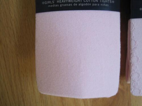 Solide côtelé en relief Rose Collants Neuf Avec Étiquettes 7 8 9 10-Pick 1