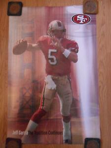 NFL Football Poster Jeff Garcia San Francisco 49ers ~ The ...