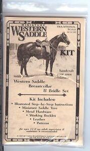 Rio-Rondo-Western-Traditional-Scale-Saddle-Kit-for-Breyer-Stone-Horse