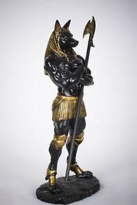 Egyptian-Dark-Lord-Anubis-Statue-God-of-the-Dead-Mummy