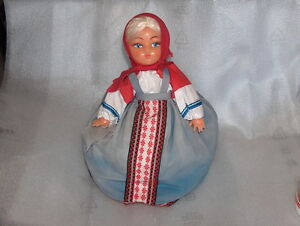 VINTAGE-TEA-COSY-IN-SHAPE-OF-DOLL-RUSSIA-1970s