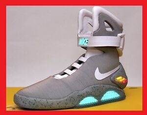 LIMITED-EDITION-2011-NIKE-MAG-7-8-or-9-BACK-FUTURE-MCFLY-AIR-SHOES-BOOTS