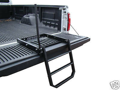 Pickup Truck Collapsable Tailgate Bed Step Ladder
