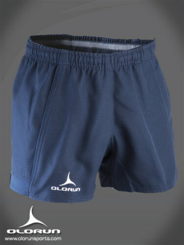 Olorun Kinetic  Navy Rugby Shorts 30 - 42