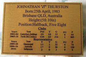 Johnathan-Thurston-Gold-Sublimated-Plaque