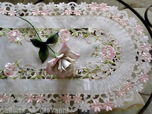 Pink-Princess-Rose-Sheer-Lace-table-Runner-Doily-28