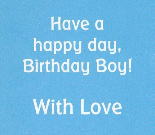 7 x cards to choose from! boys 6th happy birthday card age 6 today
