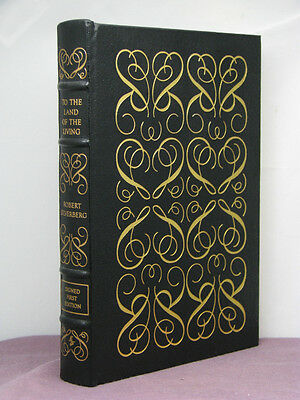 1st, signed by 3, To the Land of the Living by Robert Silverberg, Easton Press