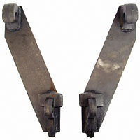 EURO-BACK-PLATES-for-Loader-tractor-impliment-bale-forks-farm