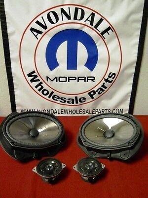 Dodge Chrysler Jeep KICKER Audio Speaker Premium Upgrade Mopar OEM