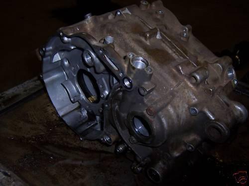 yamaha yfm660 660 raptor engine crankcase cases case