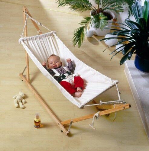 Amazonas 'Koala' portable baby hammock & stand set with Sunny blanket liner