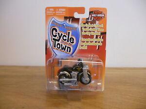 Maisto Cycle Town 15013 Black Fatboy