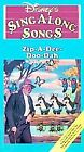 Disneys Sing Along Songs - Song of the South: Zip-A-Dee-Doo-Dah (VHS, 1993)
