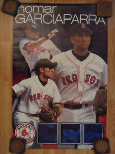 MLB-Baseball-Poster-Nomar-Garciaparra-Boston-Red-Sox