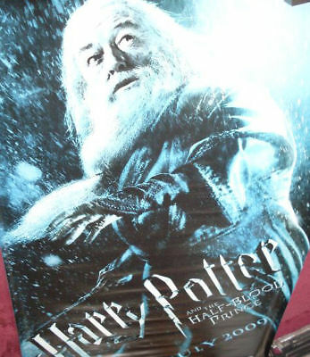 Cinema Banner: HARRY POTTER HALF BLOOD PRINCE 2009 (Dumbledore) Michael Gambon