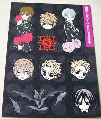VAMPIRE KNIGHT mini sticker official limited anime #2