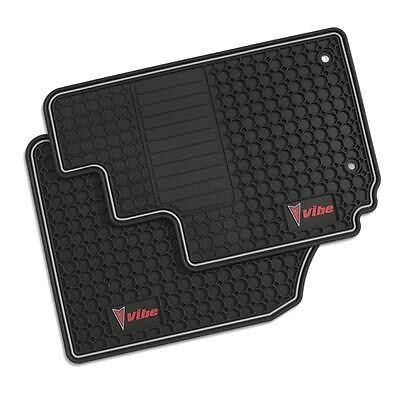 2003-2008 Pontaic Vibe Front Premium All Weather Floor Mats Graphite 12498520 GM