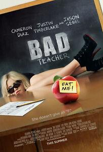 BAD-TEACHER-MOVIE-POSTER-DS-ORIGINAL-27x40-CAMERON-DIAZ