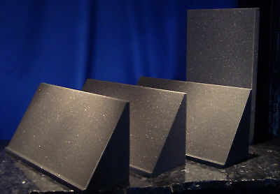 4 - 2' CORNER BASS TRAPS for $59 NEW Acoustic Foam PRO Studio low-freq absorbers